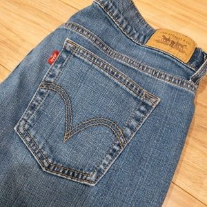 Levi's 515 Cropped Jeans